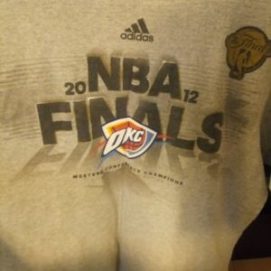 2012 NBA Finals OKC Thunder Tee
